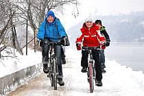 Cyklostezku otestovaly beřkovické děti.