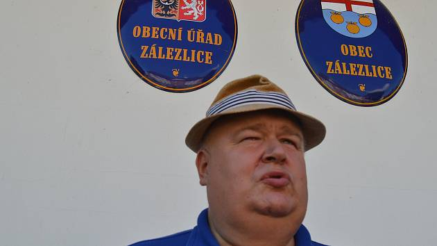 Starosta Zálezlic Jiří Čížek.