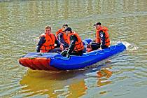 Jednotka sboru dobrovolných hasičů Všetaty má k dispozici i motorový člun, který hasiči úspěšně použili při záplavách před třemi lety.