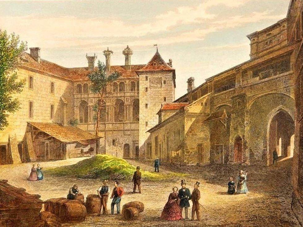 Rytina z počátku 19. století