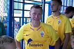 Josef Laštovka, trenér fotbalistů Benešova