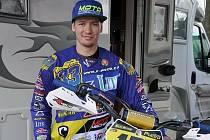 Pavol Pučko, dnes už bývalý úspěšný jezdec motokrosu, ploché dráhy a flat tracku.