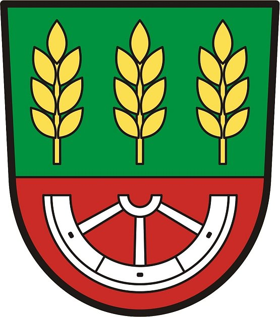 Zlosyň na Mělnicku má od ledna 2021nový znak obce.
