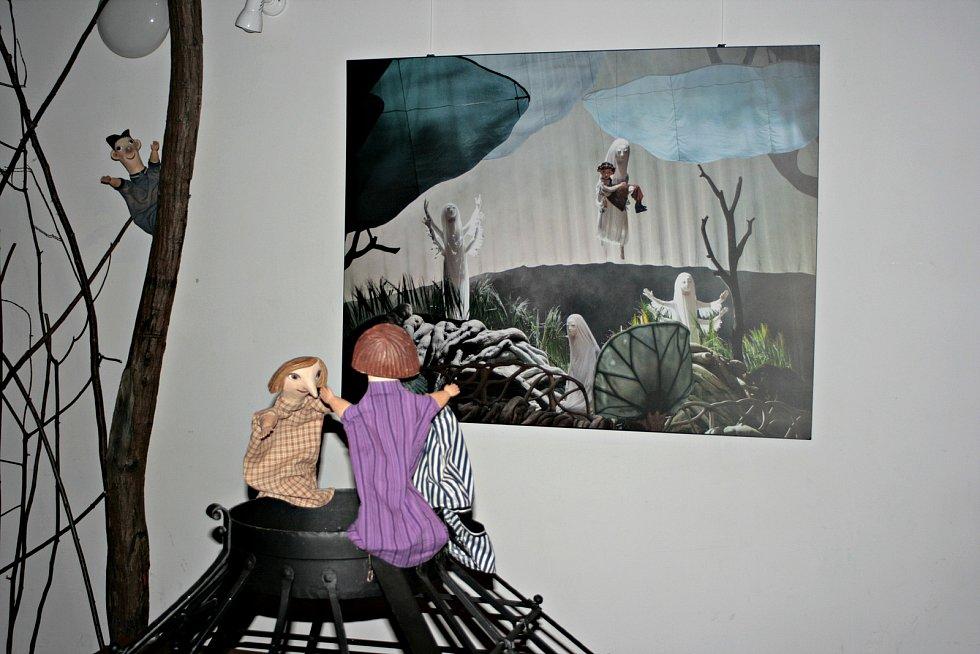 Z výstavy Imaginárium v Regionálním muzeu Mělník.