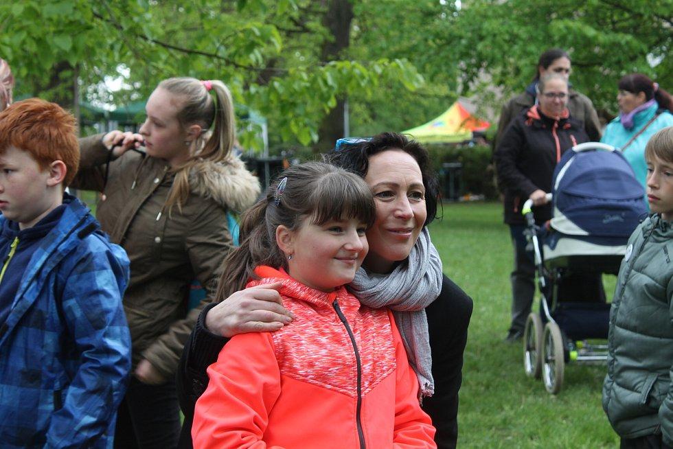 Kristýna Frejová se s fanoušky ráda vyfotila.