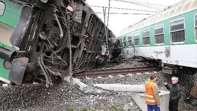 Vlaková nehoda u Cítova