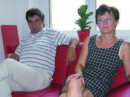 Ředitel kanceláře Oldřich Klabík a majitelka kanceláře PhDr. Olga Janoušková.