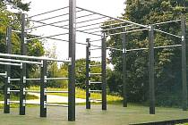 Workoutový park ve Klích v části Záboří bude určený starším školákům.