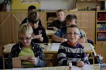 Děti z chlumínské školy se znovu učí.