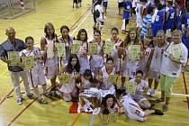 Kralupské basketbalistky si přivezly ze Španělska zlato.