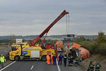 Smrtelná dopravní nehoda na dálnici D8.