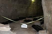 Mělnický osvětový a okrašlovací spolek spolu s městem Mělník otevřelo na jeden den sklepení U Straků.