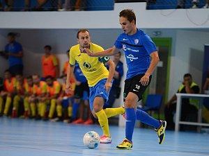 Ve druhém koe VARTA futsal ligy se Olympiku Mělník povedla doma senzace. Výsledkem 4:2 zdolal favorizovaný Interobal Plzeň.