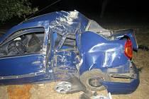Řidiče od drsných následků dělily jen centimetry.
