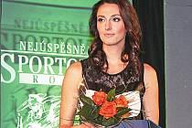 Mirka Dobsová na Sportovci roku 2015.