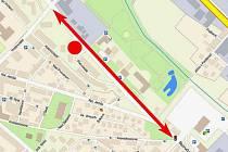 Bezručova ulice bude neprůjezdná od kruhové křižovatky u sídliště Pivovar až ke křižovatce u autobusového nádraží. Řidiči se nedostanou ani na terasovité parkoviště sídliště Pivovar