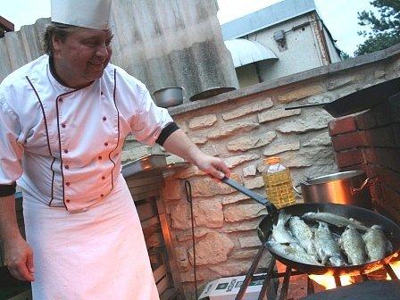 Kuchař Karel Fiedler by rád mezi lidi dostal i jiné pochutiny z exotické kuchyně.