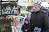 Vánoční trhy v Mělníku.