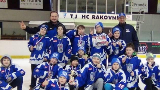 Senzační stříbro hokejistů na vánočním turnaji v Rakovníku.