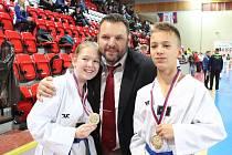 Mělnický Hansoo získal osmkrát zlatou medaili, dvakrát stříbrnou a dvakrát bronzovou.