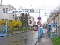 Nemocnice s poliklinikou v Mělníku.