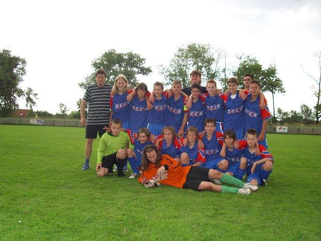 Starší žáci FK Pšovka Mělník