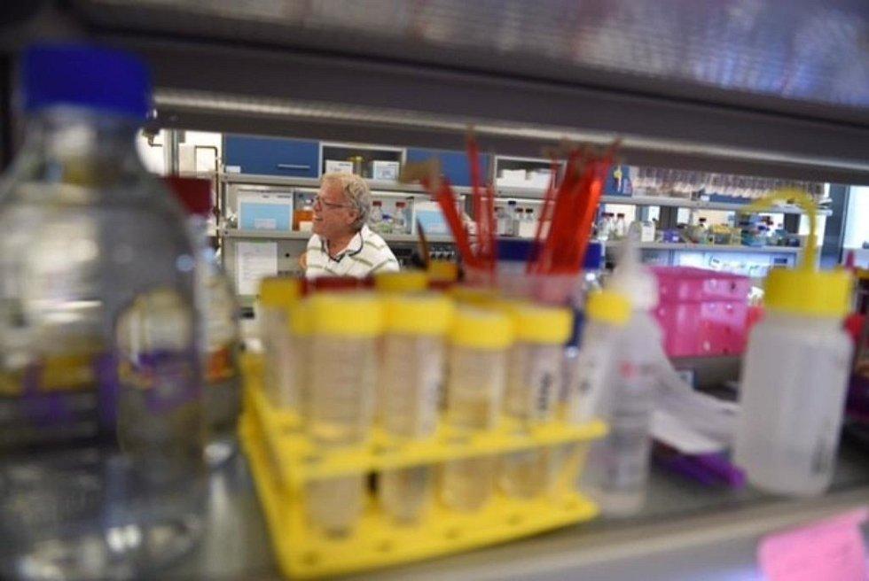 Zástupci Středočeského kraje navštívili výzkumné centrum BIOCEV. Laboratoř, kde vzniká lék proti rakovině.