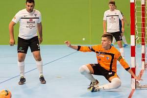Jedním z noviců na soupisce prvoligového týmu Olympiku je mladý Martin Šanda.