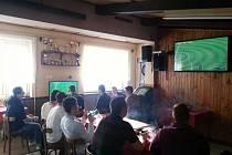 Ve Velkém Borku se konal turnaj na herní konzoli Play Station 3 ve hře FIFA 2014.