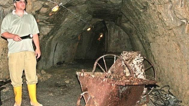 Průchod podzemní chodbou možná v budoucnu dovede turisty až k balkónku, ze kterého si budou moci prohlédnout unikátní mělnickou studnu.