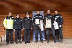 Strážníci z Mělníka získali první a třetí místo v soutěži ve Lhotce.