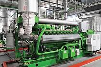 Elektrárna v Kozomíně.