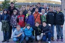 Mladší žáci FK Kralupy 1901 navštívili bundesligové utkání