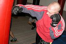 Z tréninku mladých mělnických boxerů