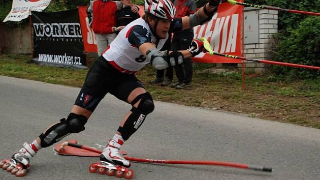Richard Kudělásek na trati loňského finále v Kralupech nad Vltavou