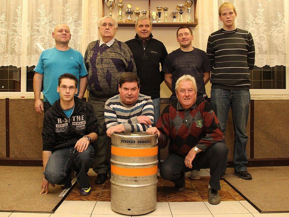 Vyhlášení podzimního kola Tipligy Mělnického deníku.