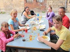 Vegetariánský den ve Mšeně.
