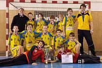 Mladší žáci Wendy Mělník ovládli turnaj v Novém Veselí.