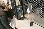 Zavřené obchody. Ilustrační foto.