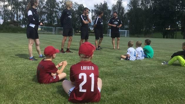 Sport Fotbal kemp Davida Lafaty