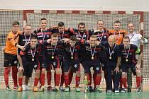 Futsalisté SK Olympik Mělník obhájili prvenství v krajské části Poháru FAČR.