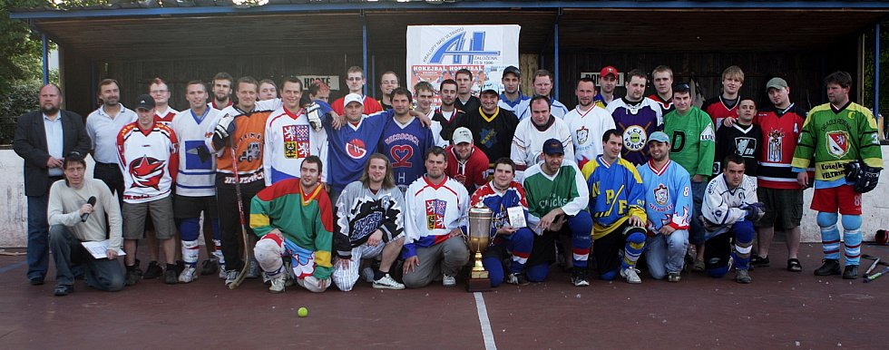 Křest DVD HISTORIE AHL 1997 - 2008 na kralupském Koloseu