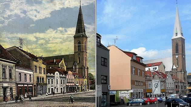 Změnily se kralupské ulice v průběhu tří různých století?