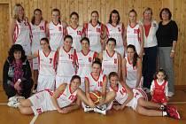 Kralupské basketbalové dorostenky vedou ligovou soutěž.
