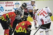 Hokejisté Mělníka nestačili na Klatovy (3-5)