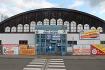 Mělnický zimní stadion.