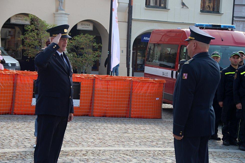 Hasiči z celé republiky se v Mělníku utkali v soutěži v poskytování první pomoci.