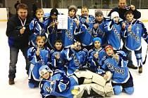 Hokejoví mladší žáci Kralup na turnajích potvrdili své kvality.