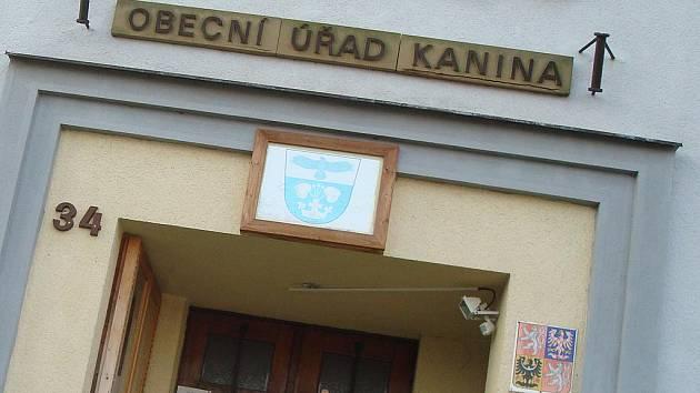 Obecní úřad v Kanině.
