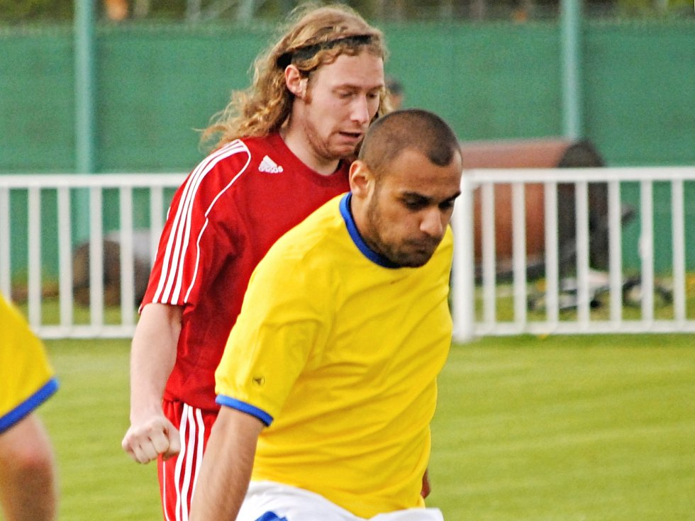 Josef Gabčo mladší vstřelil svůj první hattrick za neratovický A-tým.